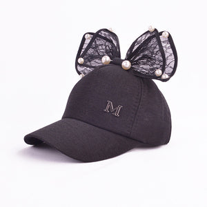 Bow Girly Cap