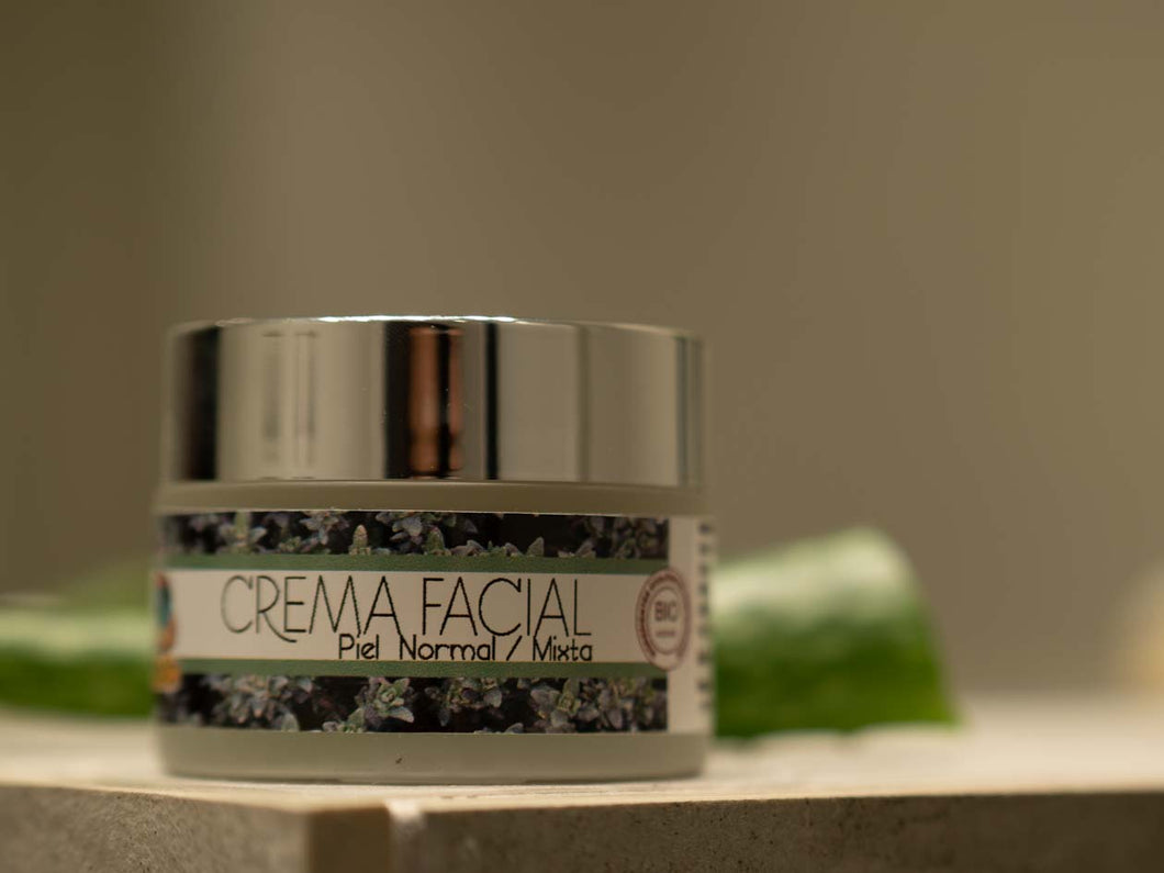 Crema Facial - Piel Normal / Mixta