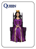 Game of Kingdoms Blue Queen Card