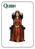Game of Kingdoms Green Queen Card