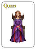 Game of Kingdoms Yellow Queen Card