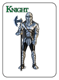 Game of Kingdoms Green Knight Card