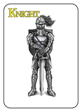 Game of Kingdoms Yellow Knight Card