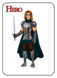 Game of Kingdoms Red Hero Card