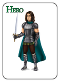 Game of Kingdoms Green Hero Card