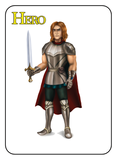 Game of Kingdoms Yellow Hero Card