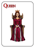 Game of Kingdoms Red Queen Card