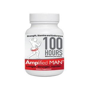 Amplified Man natural male enhancer 5 capsule bottle