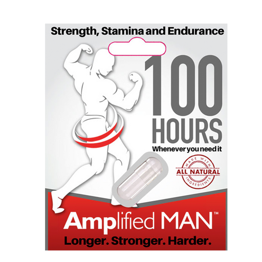 Amplifed Man Natural Male Enhancer