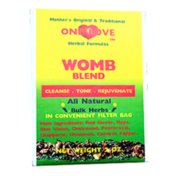 One Love Womb Blend | Fibroid Support, Fertility Support, Ovarian