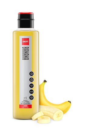 SHOTT Fruit Banana Flavour 1 Litre