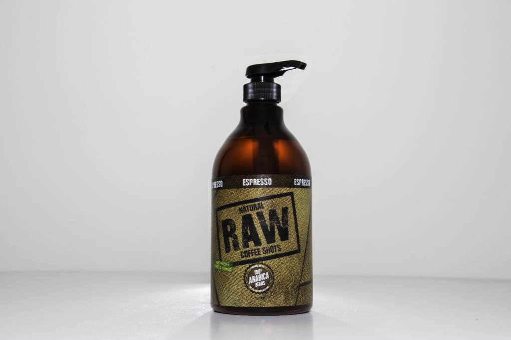Natural Raw Coffee Shots Espresso 1L