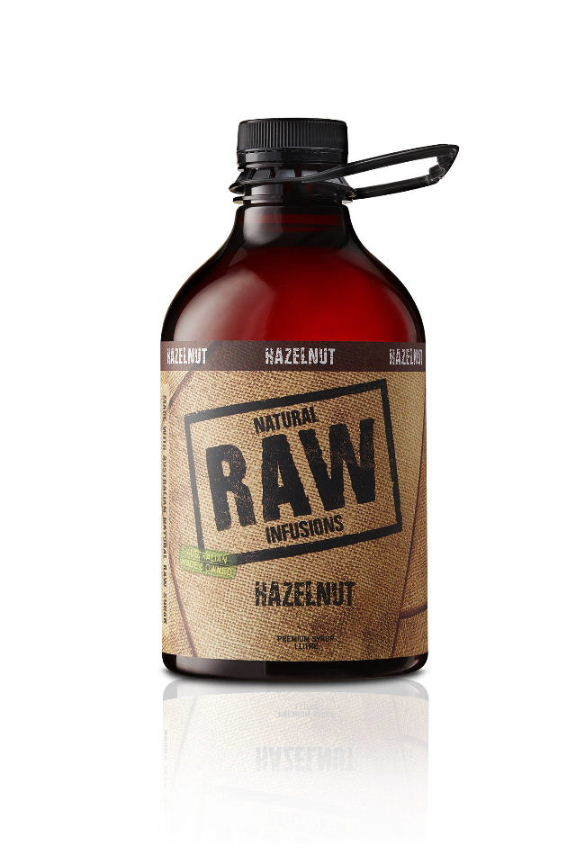 Natural Raw Syrup Hazelnut 1L