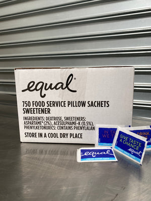Equal Sugar Sachets 750
