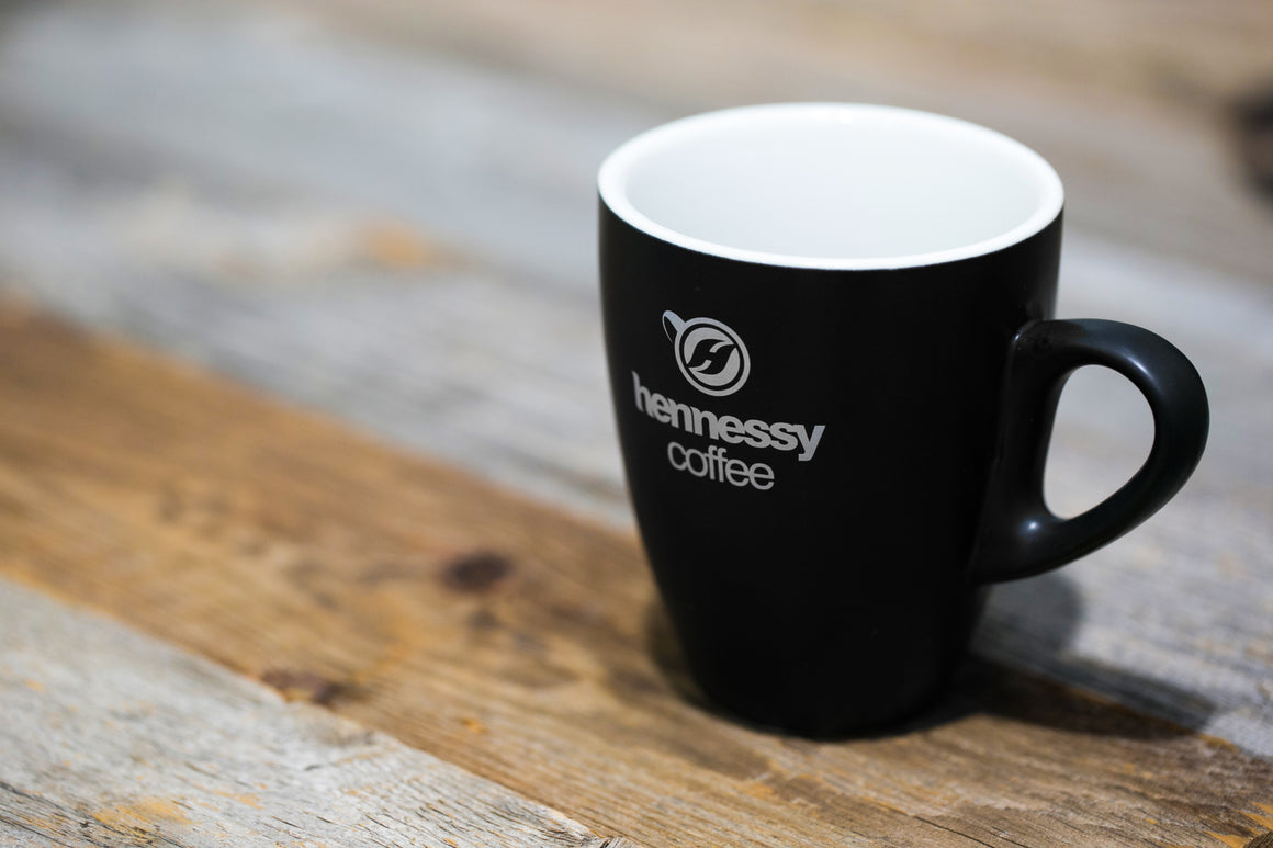 Hennessy Coffee Matte Black Mug