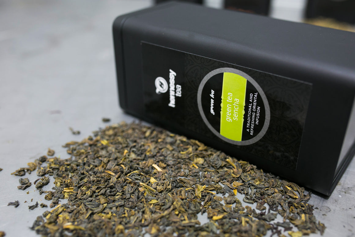 Green Tea Sencha Storage Tin
