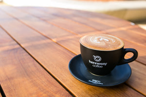 Hennessy Cappuccino Cup & Saucer