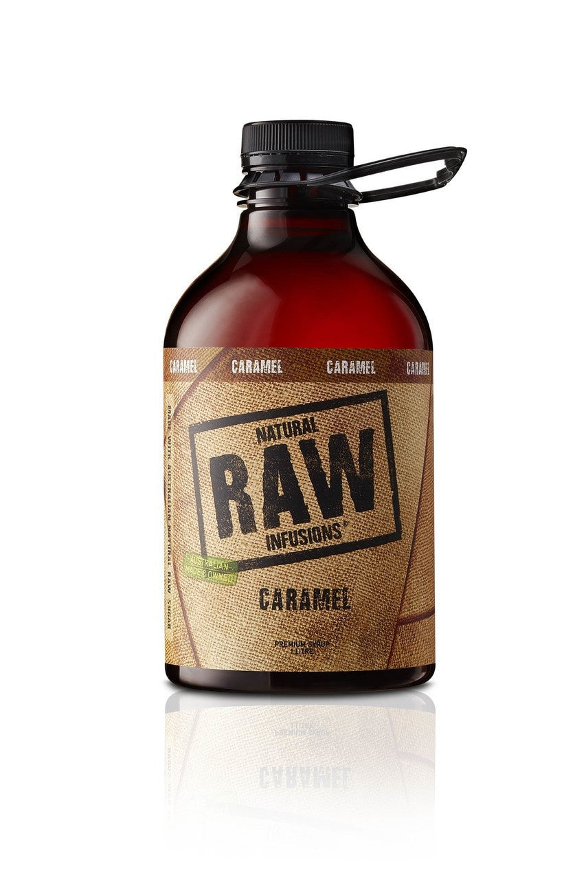 Natural Raw Syrup Caramel 1L