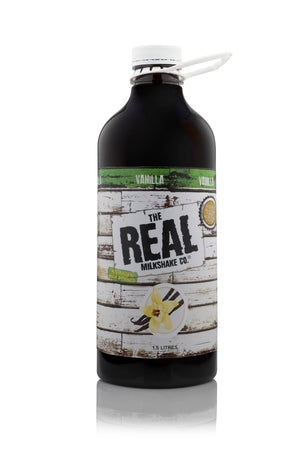 THE REAL MILKSHAKE CO. Vanilla Syrup 1.5L