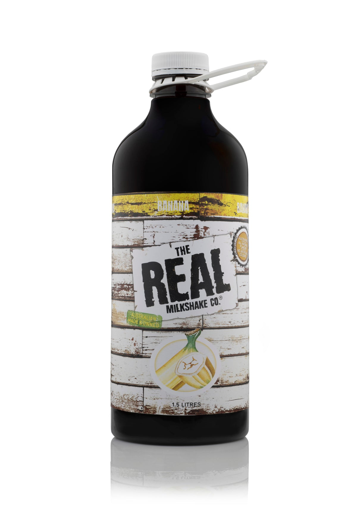 THE REAL MILKSHAKE CO. Banana Syrup 1.5L