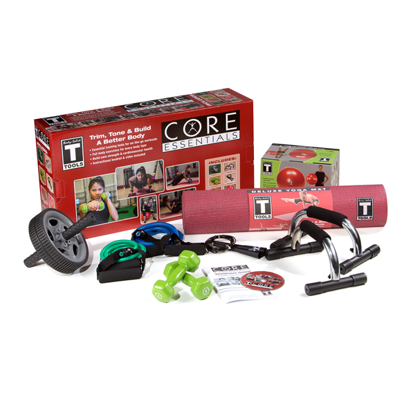 Core Fitness Essentials Pack for fast core results
