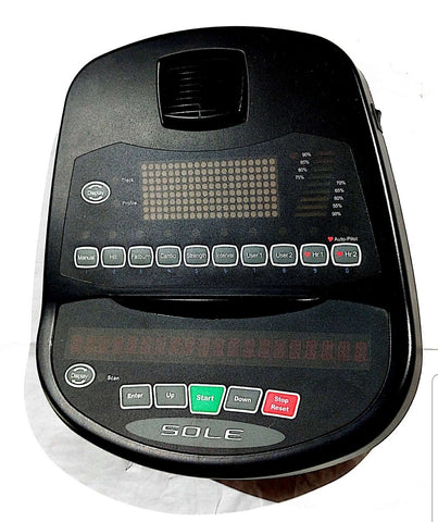 Console Display Sole Fitness E25 (525087) - Futuristic Enterprise