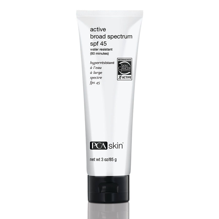 Active Broad Spectrum SPF45:Water resistant 3oz/88.7ml