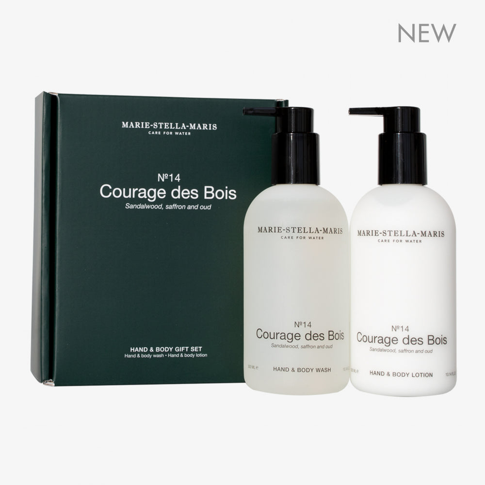No. 14 Courage des Bois - Hand & Body Giftset