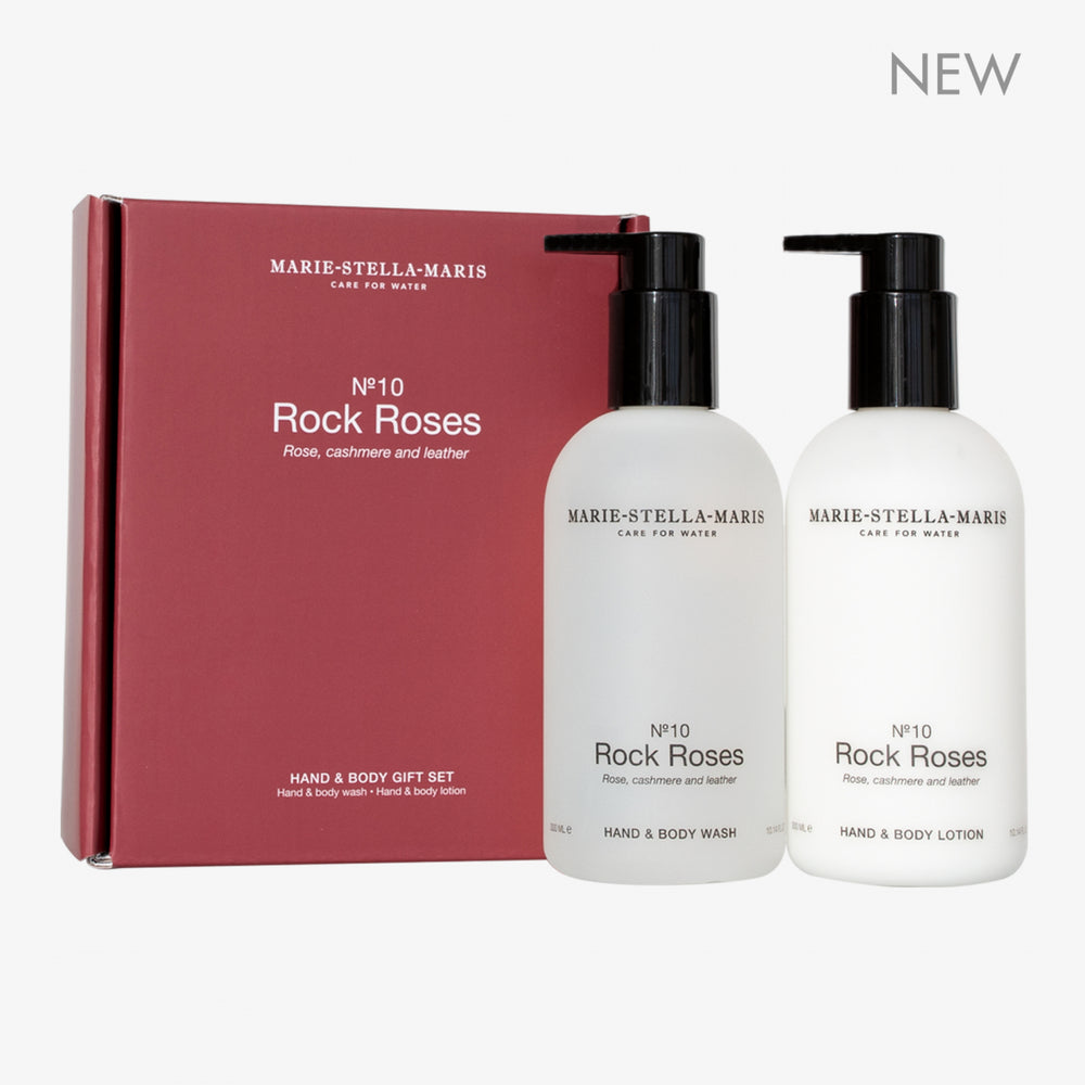 No.10 Rock Roses - Hand & Body Giftset
