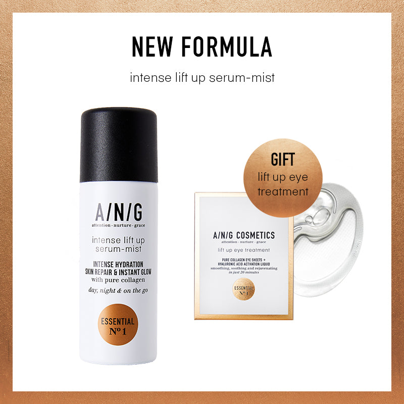 A/N/G Lift up Serum - Mist nieuwe formule + Lift up Eye Sheet 1 paar