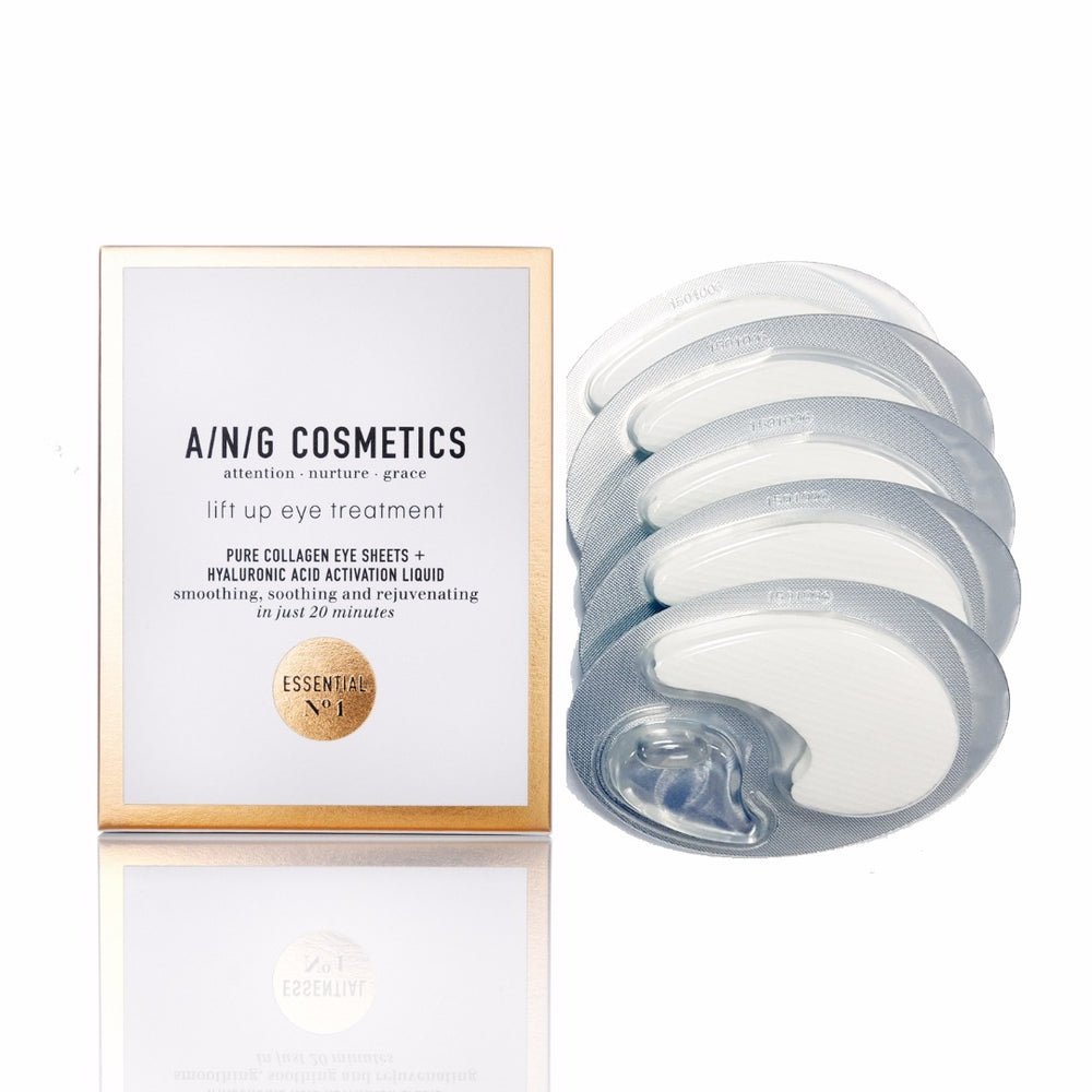 A/N/G Pure Collagen Eye Sheets - 5 paar