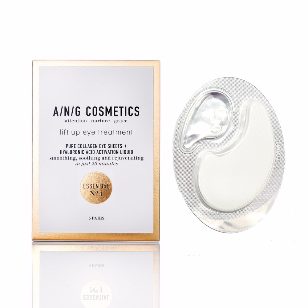A/N/G Pure Collagen Eye Sheets - 1 paar in cadeauverpakking