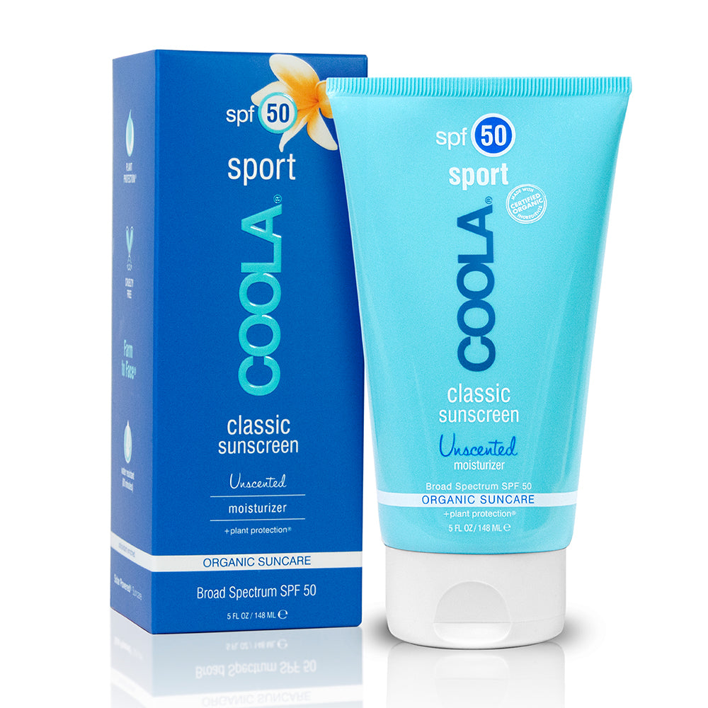 Classic Sunscreen Sport body SPF 50 Unscented 148ml