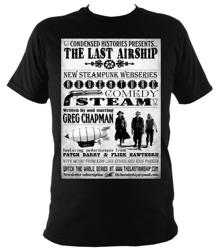 The Last Airship Poster T-Shirt