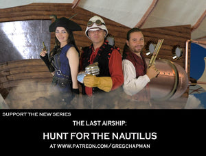 Become An Executive Producer Of The Last Airship Series 2!