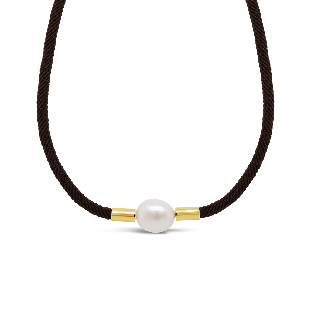 Real Freshwater Pearl Dressage Choker Necklace