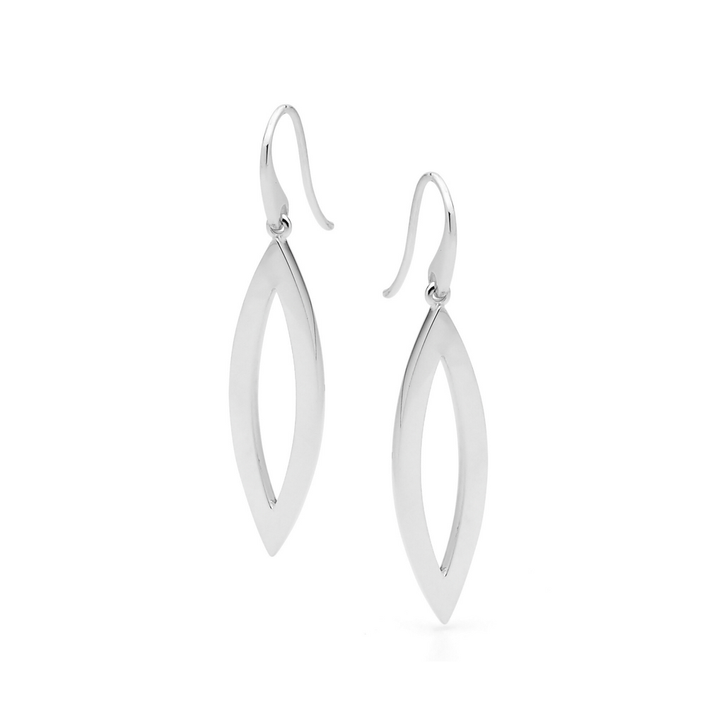 Portrait Marquise Shaped Earrings
