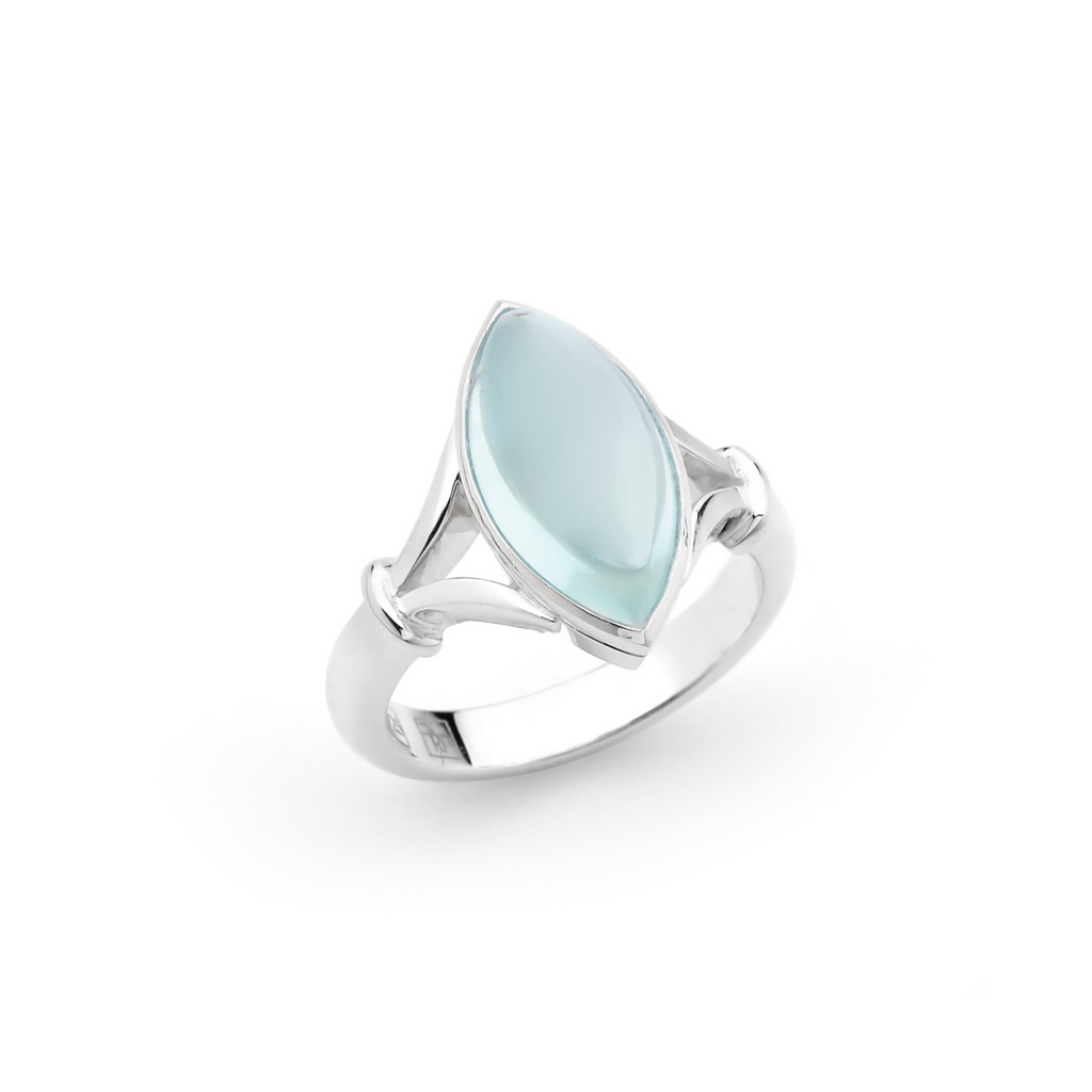 Portrait Vanguard Blue Marquise Gemstone