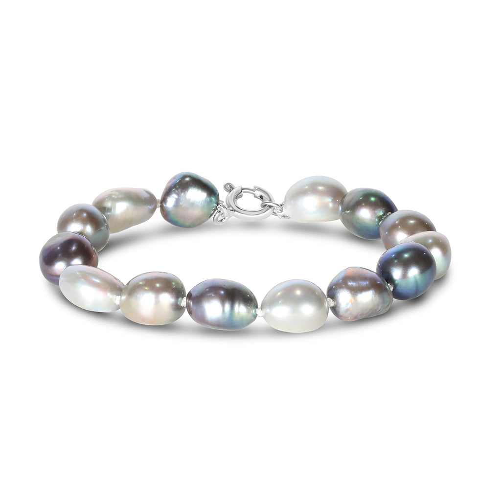 Baroque Freshwater Pearl Bracelet (Ombre)