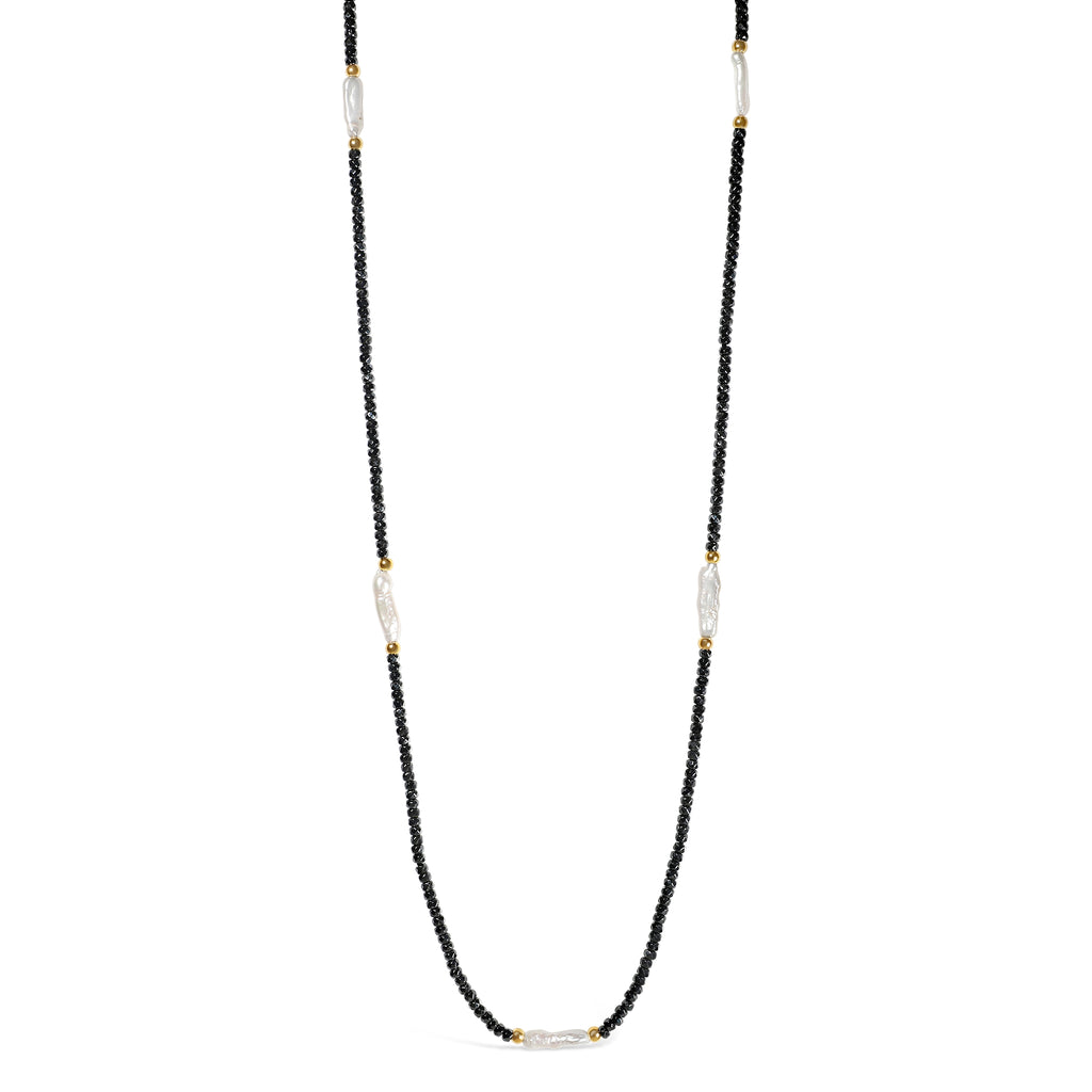 Real Freshwater Biwa Pearl Necklace