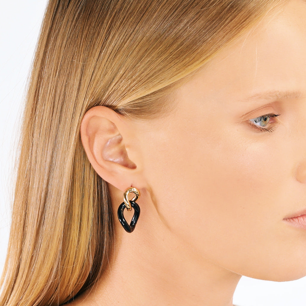Contemporary Link Earrings