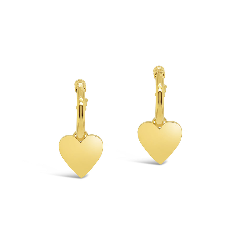 Contemporary Heart Earrings