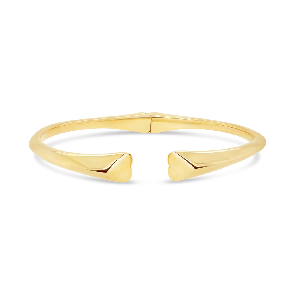 Contemporary Heart Bracelet