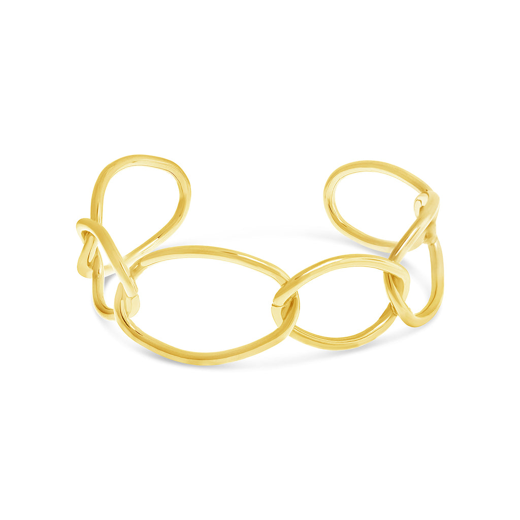 Contemporary Open Link Bracelet