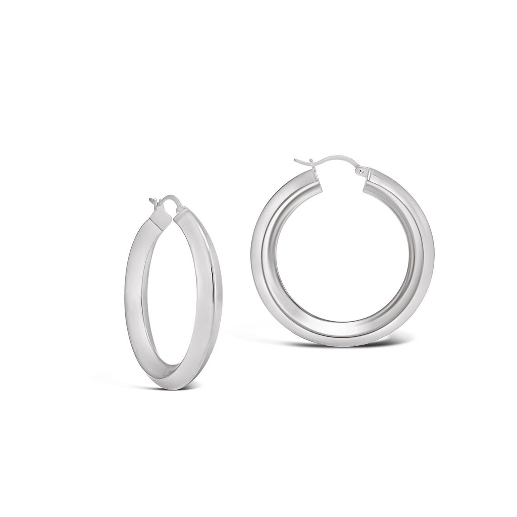 Contemporary Hoop Earrings