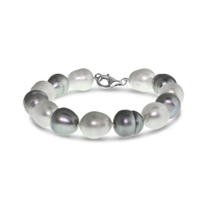 Real Baroque Freshwater Pearl Bracelet
