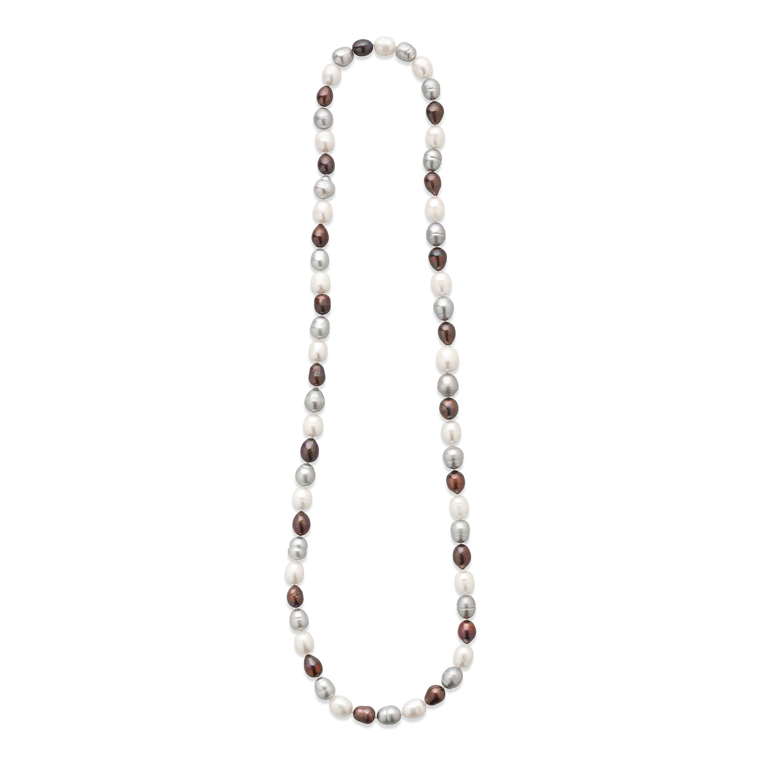 Real Baroque Freshwater Pearl Long Necklace