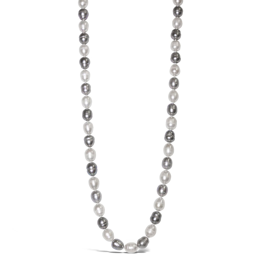 Real Baroque Pearl Long Necklace