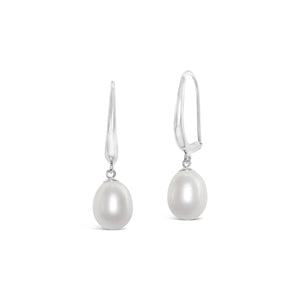 Real Everyday Classic Pearl Drop Earring
