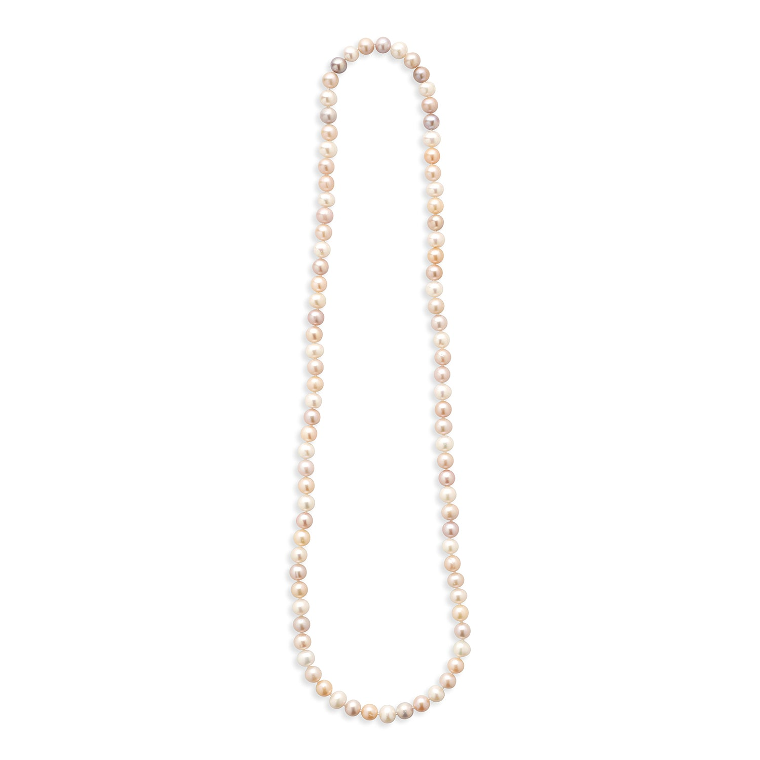 Real Everyday Freshwater Pearl Long Necklace